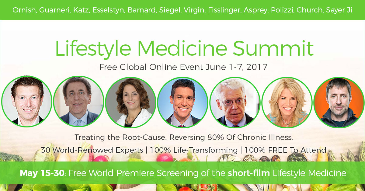 Attend the Lifestyle Medicine Summit Free